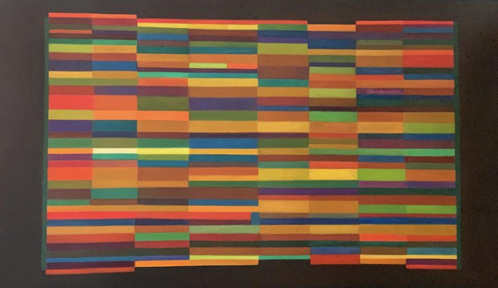 Henri-Jean Closon, L'indécomposable, 1953/1959, huile sur toile, 130 x 195 cm