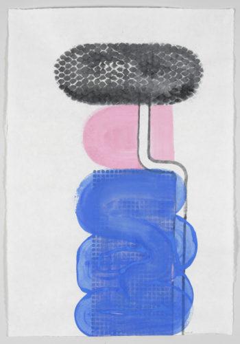 D.2015.011-Gouache et aquarelle sur papier Japon-93,5x65cm
