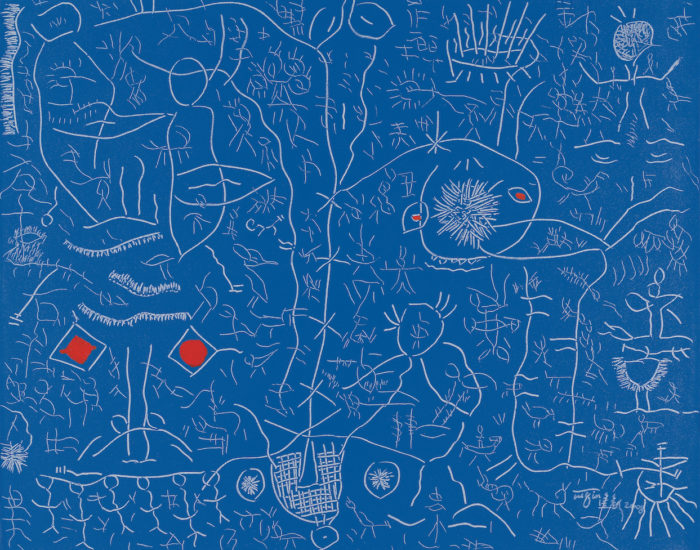 Dongfang Tuqin-Elixir of life-my-chinese-blue-2008, 80 x 100 cm