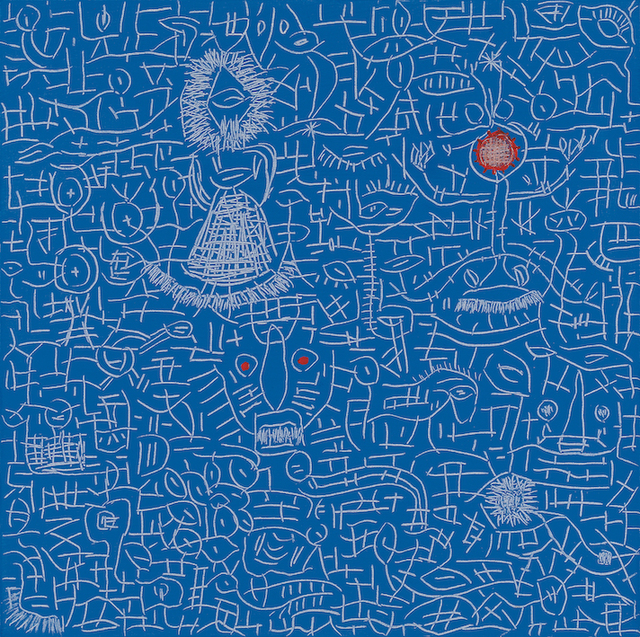 Once I dreamed about a chinese blue, 2007