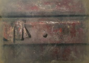 Drawer II, 1991, huile sur toile, 50 x 60,5 cm
