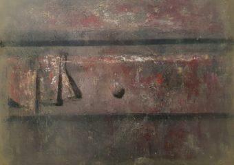 Drawer II, 1991, huile sur toile, 50 x 60,5 cm