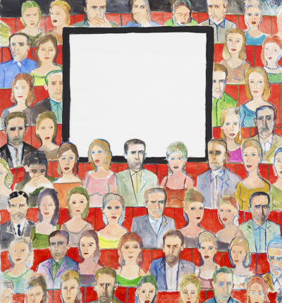 Edouard SACAILLAN-cinéma-200x180cm-acrylique sur toile-2016