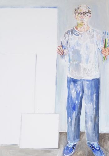 Edouard SACAILLAN, les formats du peintre, 146x97cm, acrylique sur toile, 2015
