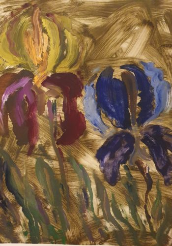 Flowers 61 - 2017 - 64 x 50 cm