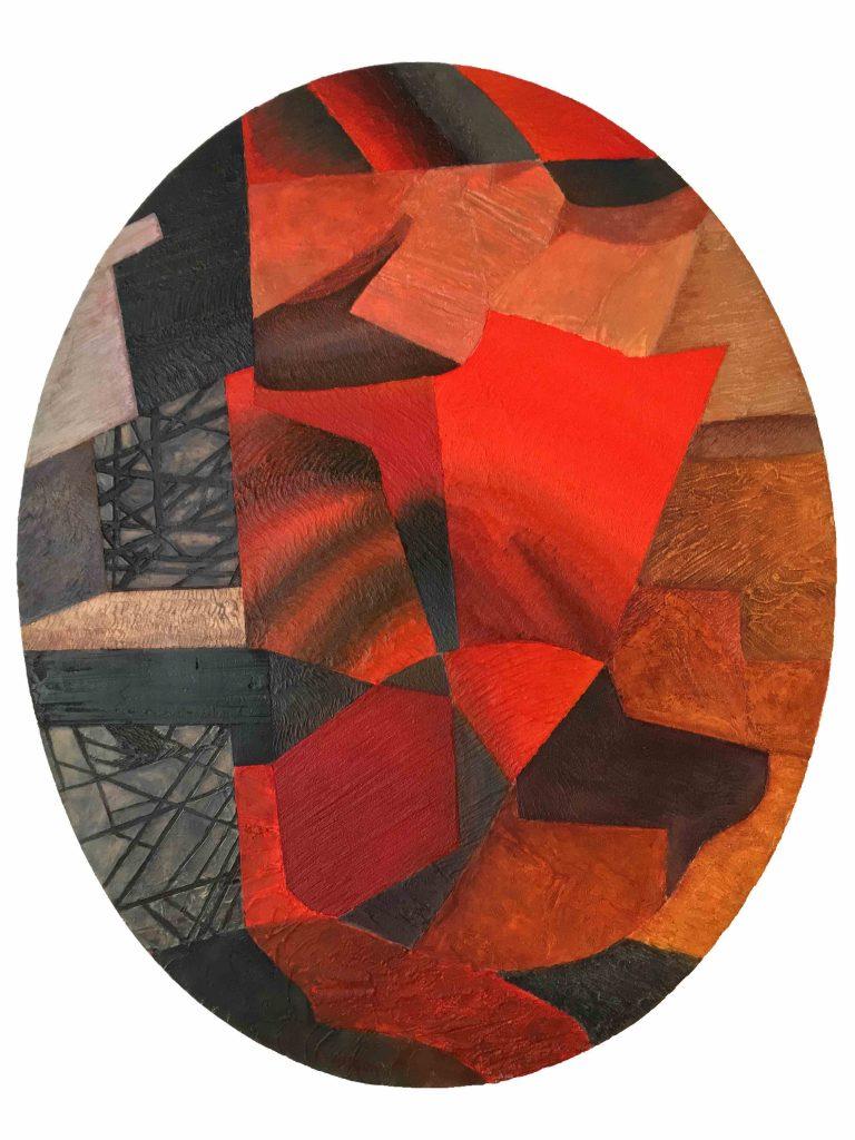 Birds, 2003, Huile sur toile, 80 x 65 cm