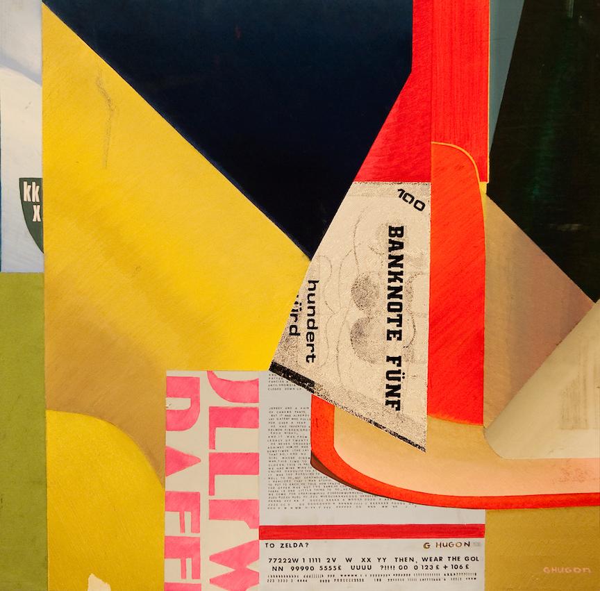 Gaité, 1987, Huile sur carton, 66x 66 cm