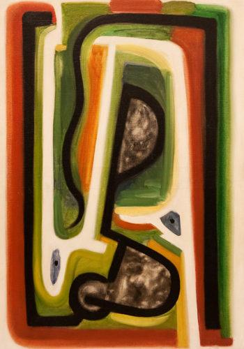 HENRI-JEAN CLOSON_HOMMAGE À DELACROIX_HST_93,5X70CM, 1941