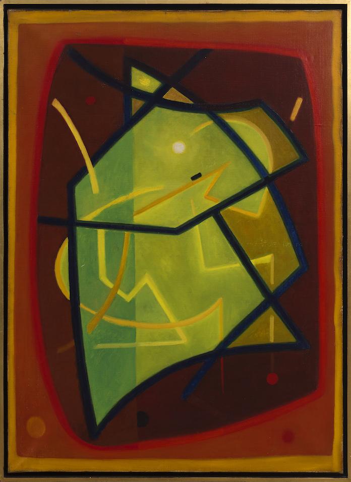Henri-Jean Closon, Le Départ, 1938, huile sur toile, 102 x 73 cm