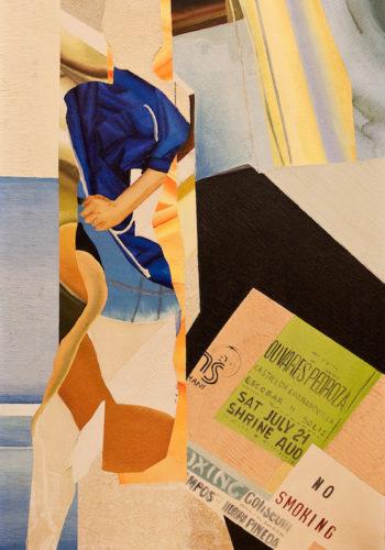 Hugon_No_Smoking, 1987, huile sur toile, 92 x 60 cm