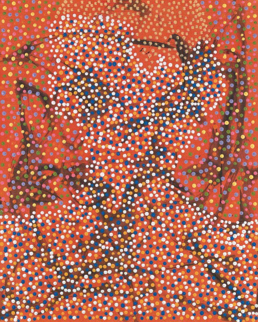 I am not I, 2008, huile sur toile, 100 x 80 cm