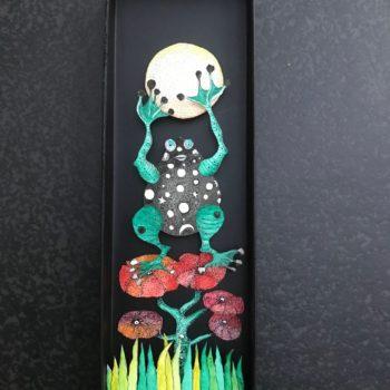 La grenouille, 31 x 10 cm