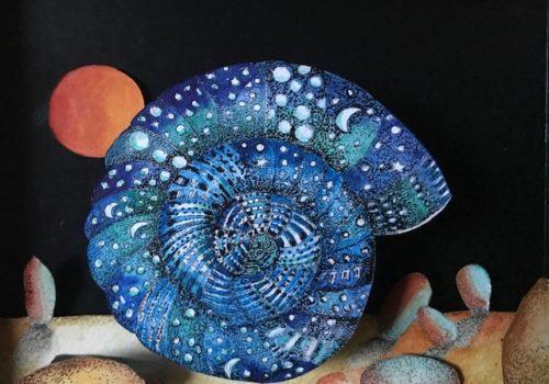 Le coquillage bleu