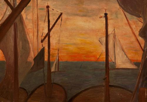 Marine (F48), huile sur toile,49,8 x 61 cm