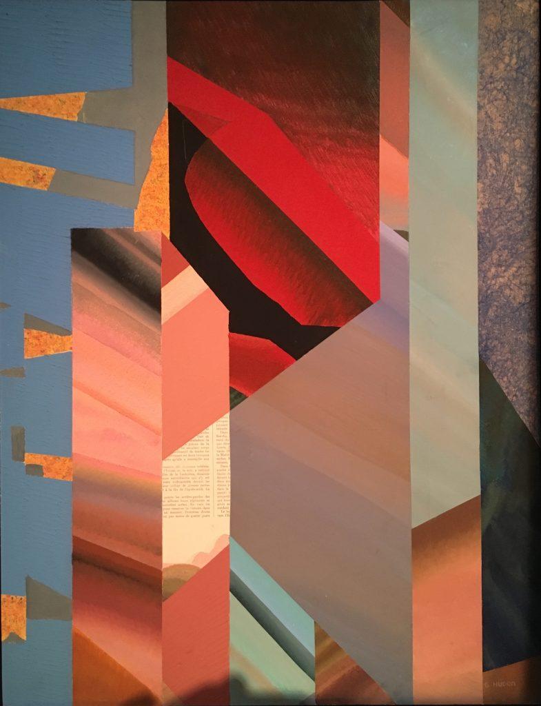 New Wave, 1987, huile sur carton, 63 x 49 cm