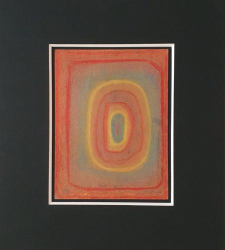 PG20, pastel sur carton, 1930, 28,8 x 21,9 cm