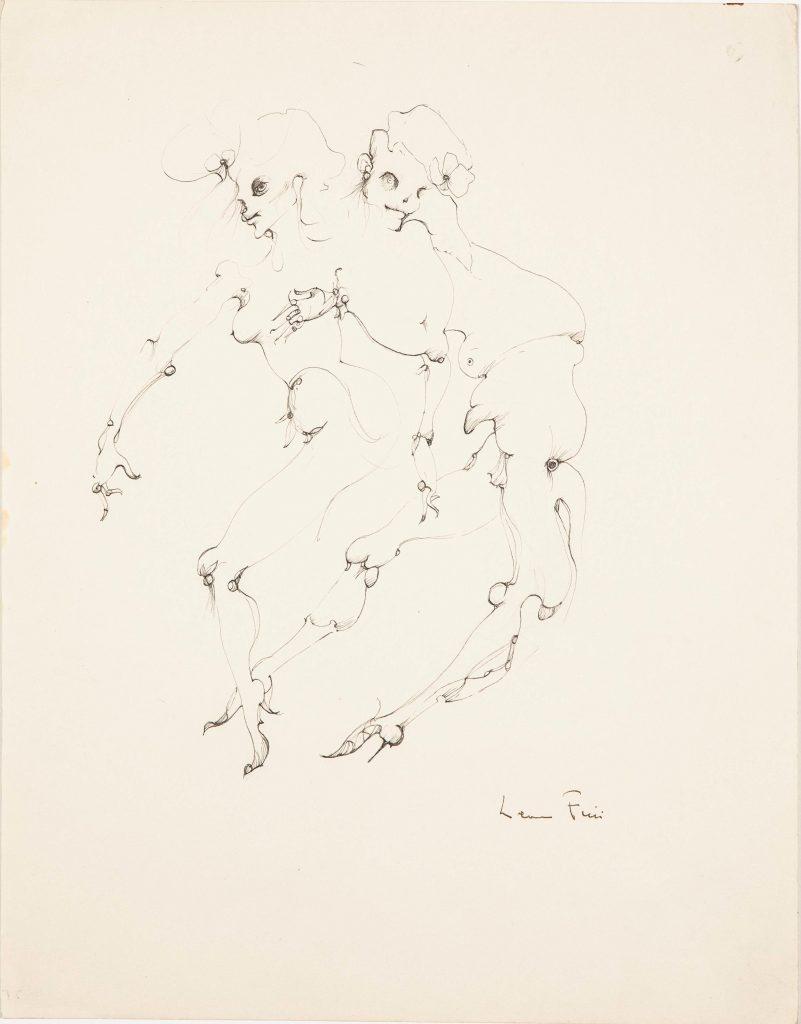 RO N°215 Fantastiques, 1983, Encre de chine sur papier, 37x29cm Chan Liat