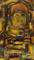 Sans titre (F61),1926, huile sur panneau, 50 x30,7 cm