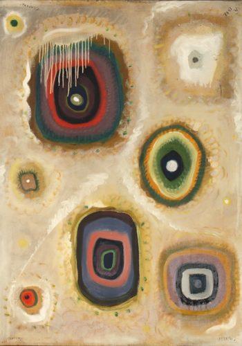 Closon, une entorse au rhytme,1938, huile sur toile,100 x 74 cm