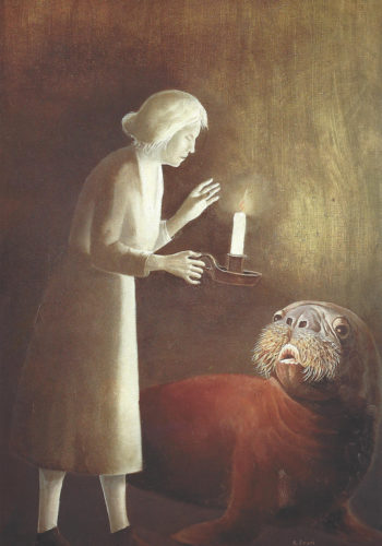 Stanislao LEPRI - Langage Nocturne, 1975, HST, 74 x 51 cm